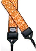Mod Orange Print Camera Strap with Quick Release