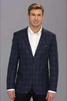 Moods of Norway Classic Fit Rune Tonning Check Suit Jacket