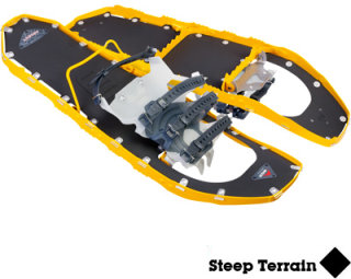 e489bf3c3861 MSR Lightning Ascent Snowshoes-Yellow-25in -  215.96 - GearBuyer.com
