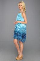 Muse Handkerchief Hem Flowy Dress