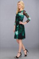 Muse Mesh Printed Girlie Dress