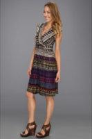 NIC+ZOE Caliente Aztec Dress