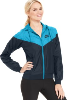 Nike Colorblocked Hooded Windrunner Jacket