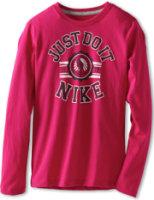 Nike Just Do It Varsity Team Long-Sleeve Tee