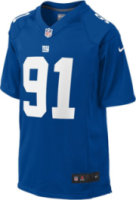 Nike NFL New York Giants Justin Tuck Game Jersey
