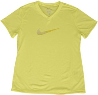 Nike Legend Swoosh V-Neck Fill Short-Sleeve Tee