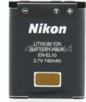Nikon EN-EL10 Rechargeable Lithium-Ion Battery For Nikon Coolpix S210 S200 S500 S510S S700S & S3000 digital cameras