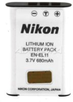 Nikon EN-EL11 Rechargeable Lithium-ion Battery Pack for Coolpix S550 Digital Camera