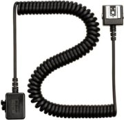 Nikon SC-28 Dedicated 9' TTL Coiled Sync Cord with Male & Female ISO Shoes from Camera to Flash.