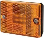 Optronics LED Amber Square Stud Mount for Trailers