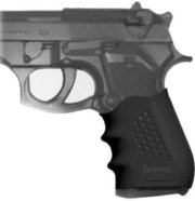 Pachmayr Custom Slip-On Tactical Grip Glove for CZ 75 / 85 Auto Pistols Black