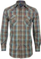 Pendleton Long Sleeve Plaid Frontier Western Shirt