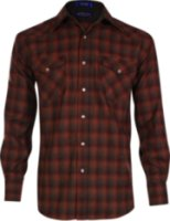 Pendleton Long Sleeve Plaid Western Shirt