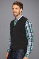 Perry Ellis Collection Cotton 5 Button Milano Vest