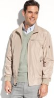 Perry Ellis Collection Lightweight Performance Bomber