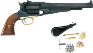 Pietta Model 1858 New Army Target  44 Caliber Revolver With Starter Kit