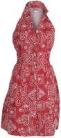 Pink Cattlelac Halter Neck Bandana Dress