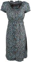 Pink Cattlelac Paisley Print Dress