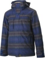 Planet Earth Faded Flannel Insulated Snowboard Jacket