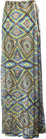 QSW Islet Watercolor Maxi Skirt