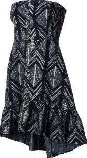 QSW Ocean Woodblock Dress
