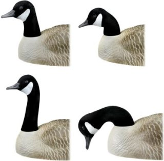 RedHead Replacement Heads for Shell Goose Decoys