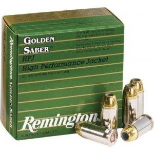 Remington Golden Saber Handgun Ammo