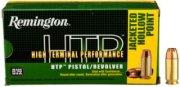 Remington New Remington HTP High Terminal Performance Personal Defense Handgun Ammo