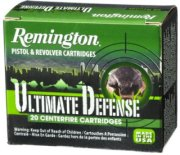 Remington Ultimate Defense Handgun Ammo