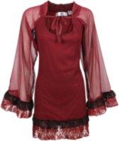 Resistol Rancho Estancia Long Sleeve Ruffled Tunic Dress