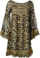 Resistol Rancho Estancia Zoey Zebra and Lace Long Sleeve Dress