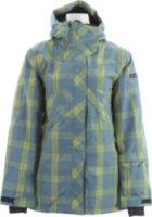 Ride Madison Snowboard Jacket Faded Plaid Steel Blue
