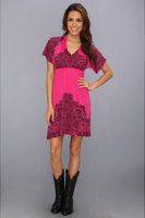 Rock and Roll Cowgirl Empire Waist Jersey Dress