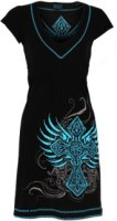 Rock & Roll Cowgirl Embroidered Cross Dress