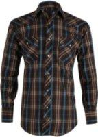 Roper Long Sleeve Plaid Print Western Shirt