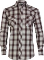 Roper Long Sleeve Plaid Western Shirt