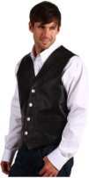 Roper Nappa Notch Collar Vest