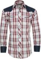 Roper Retro Plaid Long Sleeve Western Shirt