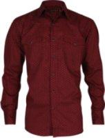 Roper Rosette Print Long Sleeve Western Shirt
