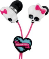 Monster High Skull Earbuds - Pink/White (11348)