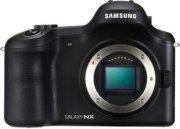 Samsung Galaxy Nx Gn120 Mirrorless Digital Camera 20.3MP Body Only 16GB Memory 4.8  HD 921k-Dot LCD Touchscreen Wi-Fi & 3G/4G LTE Connectivity