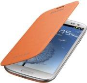 Samsung Flip Cell Phone Case for Samsung Galaxy S III - Orange (EFC