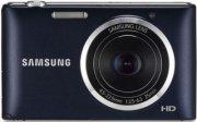 Samsung ST150F Smart Digital Camera 16.2 Megapixel 5x Optical Zoom Lens 3.0  LCD Display WiFi Cobalt Black