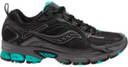 Saucony Excursion TR6 Trail Running Shoes Black/Teal