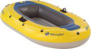 Sevylor Super Caravelle 2 Person Boat with Oars and Pump