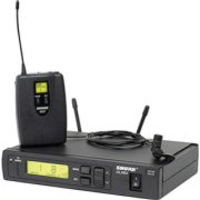 Shure ULXS14/83-G3 Wireless Lavalier Microphone System (G3 / 470-505 MHz) Includes ULXS4 Receiver ULX1 Transmitter WL183 Subminiature Lavalier