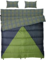 Slumberjack Bonnie & Clyde 30/40 Degree Double Sleeping Bag