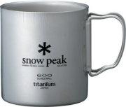 Snow Peak Titanium Double Wall Cup 600