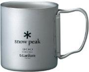 Snow Peak Double Walled Cup 300 - Titanium