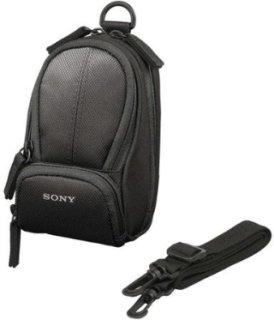 Sony Nylon Soft Carrying Case - Organizer for Camera Battery Memory Stick - Black